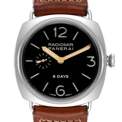 Photo of Panerai Radiomir 8 Days 45mm Steel Mens Watch PAM190 PAM00190