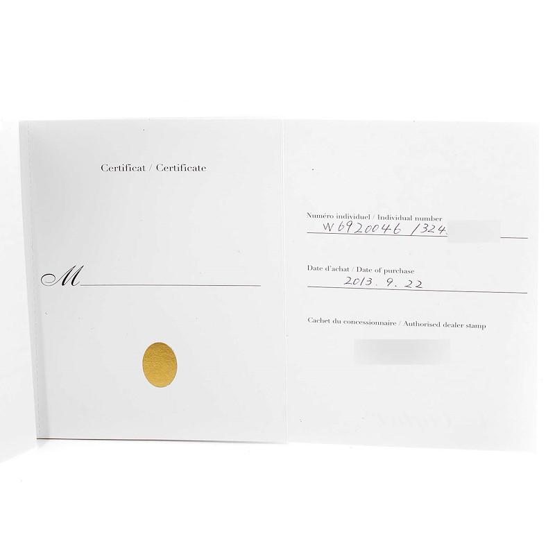 Cartier Ballon Bleu Midsize 36 Steel Ladies Watch W6920046 Box Papers SwissWatchExpo