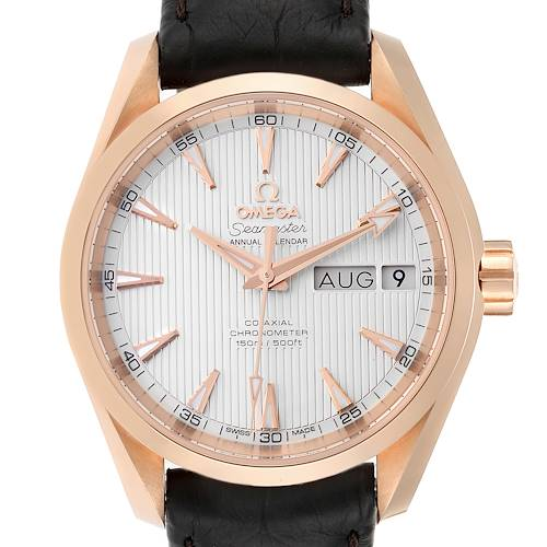 Photo of Omega Aqua Terra Annual Calendar Rose Gold Watch 231.53.39.22.02.001 Unworn