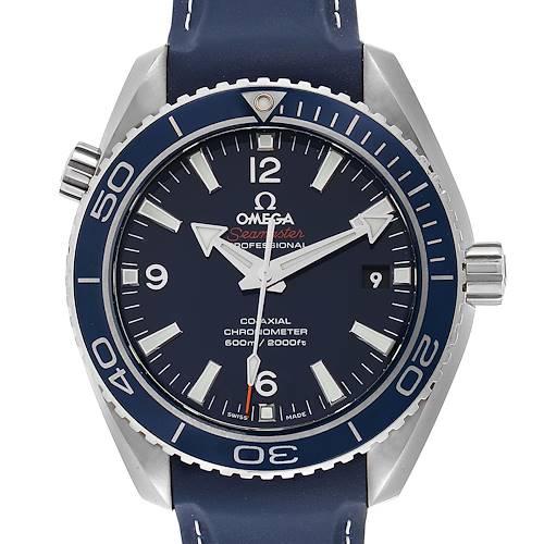 Photo of Omega Seamaster Planet Ocean LiquidMetal Watch 232.92.42.21.03.001