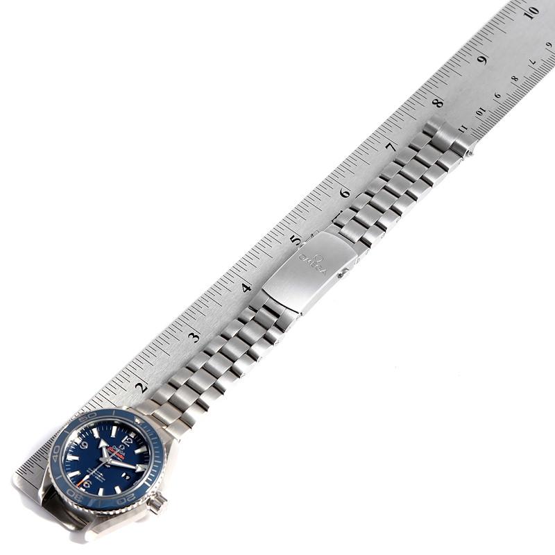 Omega Seamaster Planet Ocean Midsize Titanium Watch 232.90.38.20.03.001 Unworn SwissWatchExpo