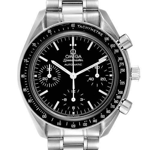 Photo of Omega Speedmaster Chrono Reduced Automatic Steel Watch 3539.50.00 Card