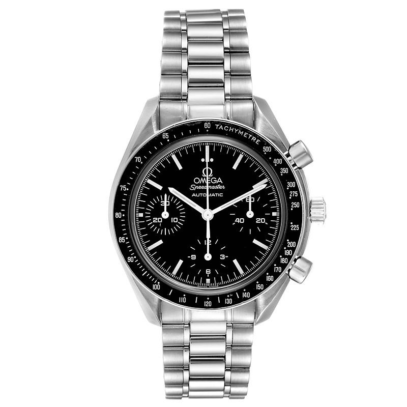 Omega Speedmaster Chrono Reduced Automatic Steel Watch 3539.50.00 Card SwissWatchExpo