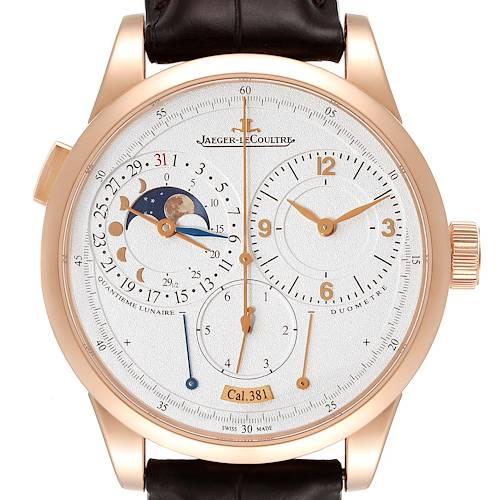 Photo of Jaeger Lecoultre Duometre Quantieme Lunaire Rose Gold Watch Q6042421