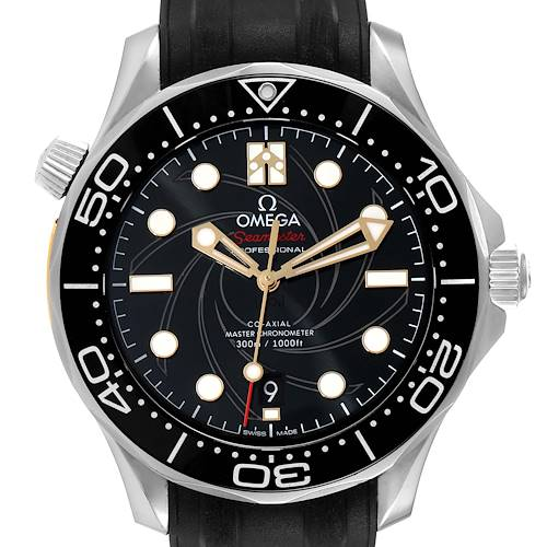Photo of Omega Seamaster James Bond Limited Mens Watch 210.22.42.20.01.004 Box Card
