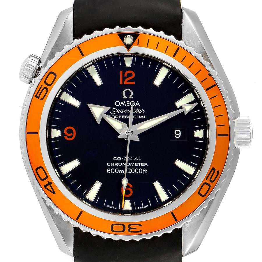 Omega Seamaster Planet Ocean 600M Mens Watch 232.32.46.21.01.001 SwissWatchExpo