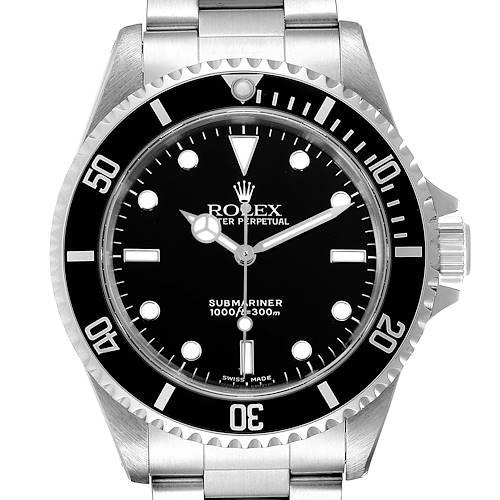 Photo of Rolex Submariner 40mm Non-Date 2 Liner Steel Mens Watch 14060