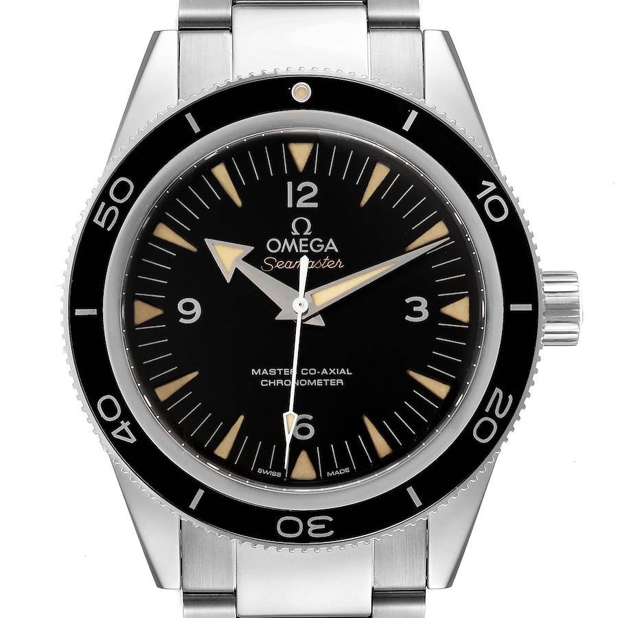 Omega Seamaster 300 Master Co-Axial Mens Watch 233.30.41.21.01.001 Box Card SwissWatchExpo