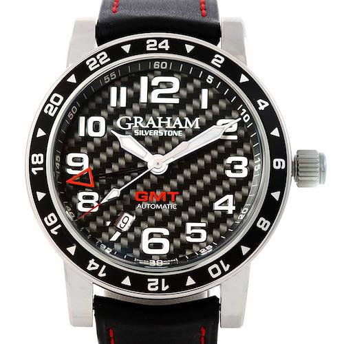 Photo of Graham Silverstone Time Zone Racing Black Watch 2TZAS.B02A Unworn