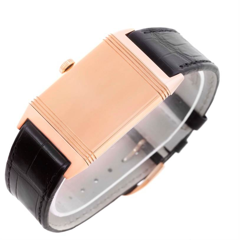 Jaeger LeCoultre Reverso Grande Reverso Rose Gold Watch Q2782520 Box papers SwissWatchExpo