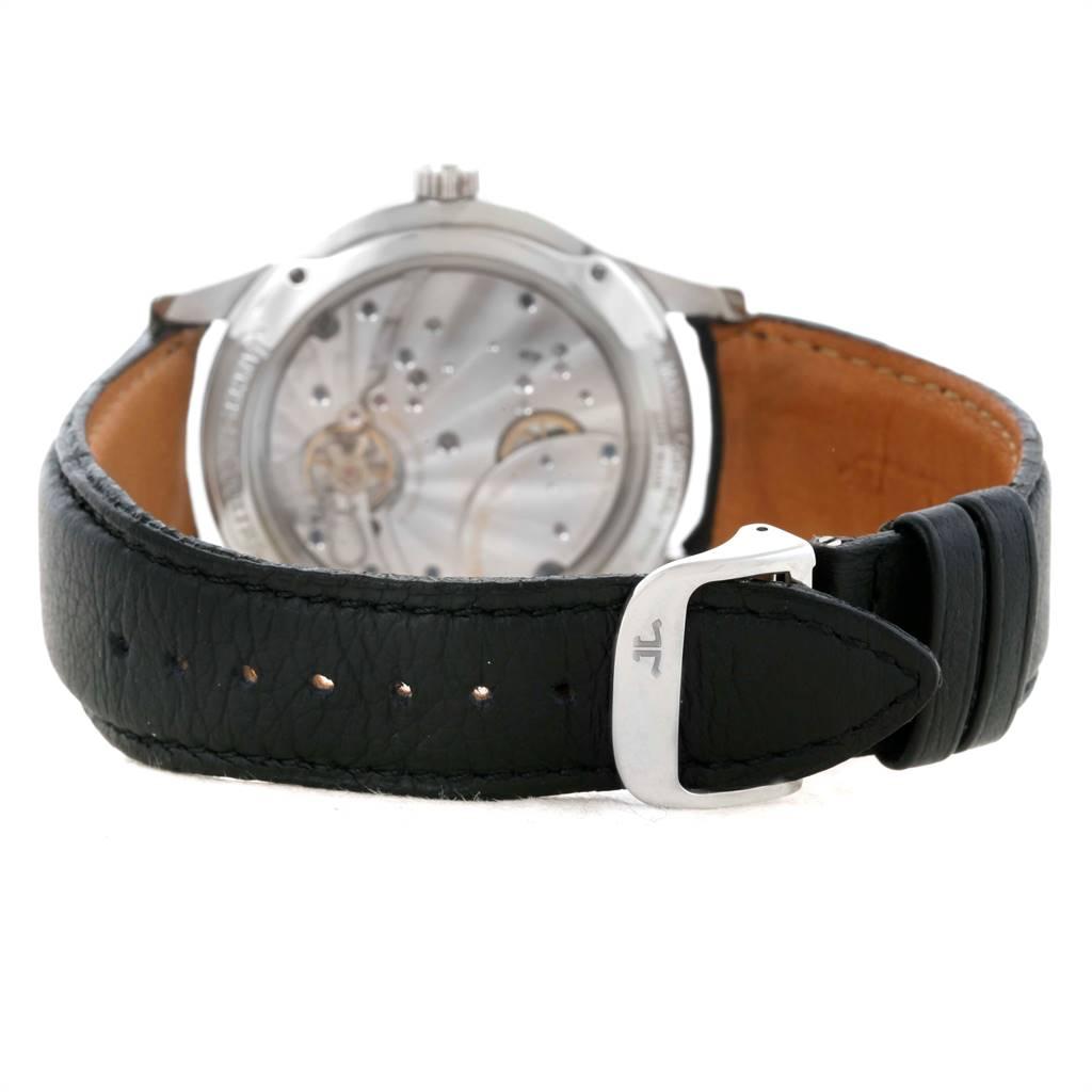 Jaeger Lecoultre Reserve De Marche 8 Days Steel Watch Q1608420 Box Papers SwissWatchExpo