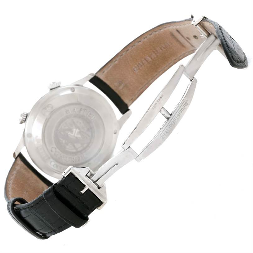 11540 Jaeger Lecoultre Master Memovox Automatic Mens Watch 174.8.96 Q1418430 SwissWatchExpo
