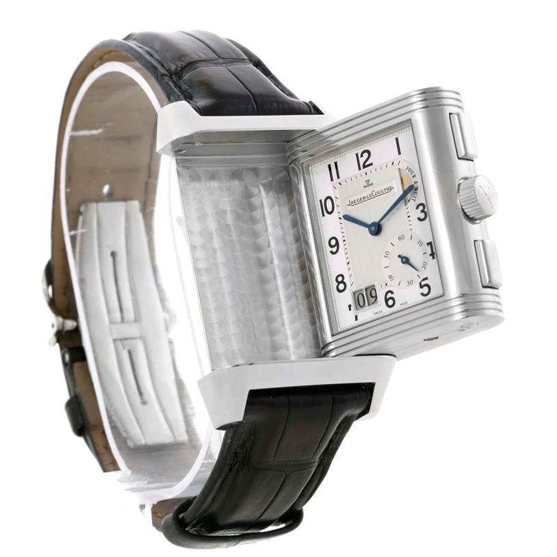 4fad05194a416 ... 11542 Jaeger LeCoultre Reverso Grande GMT Steel Watch 240.8.18 Q3028420  SwissWatchExpo ...
