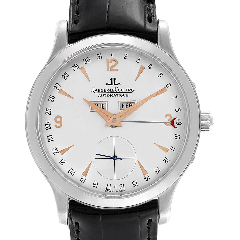 11606 Jaeger Lecoultre Master Platinum Limited Watch 140.6.87 Unworn SwissWatchExpo