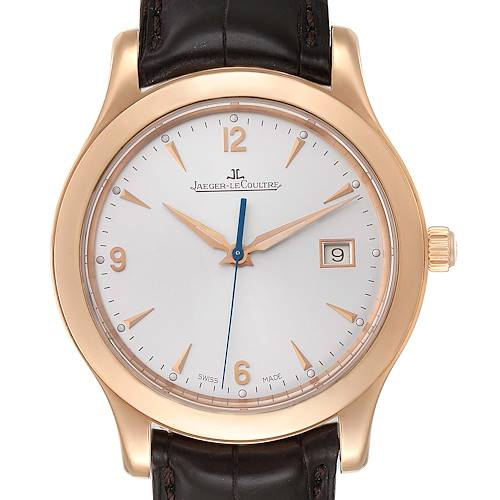 Photo of Jaeger Lecoultre Master Control Date 40mm Rose Gold Mens Watch Q147237S
