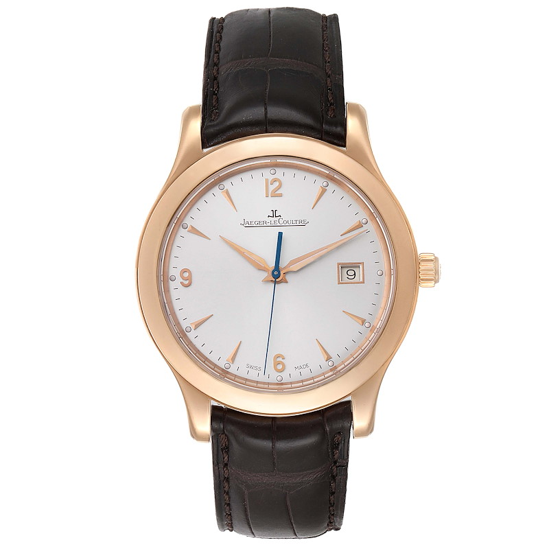 Jaeger Lecoultre Master Control Date 40mm Rose Gold Mens Watch Q147237S SwissWatchExpo