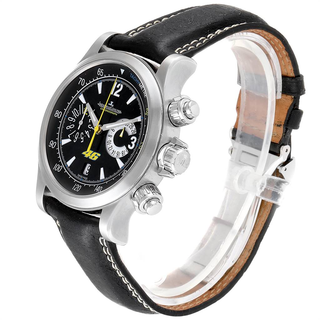 Jaeger Lecoultre Master Compressor Valentino Rossi Watch 146.8.25 Q175847V SwissWatchExpo