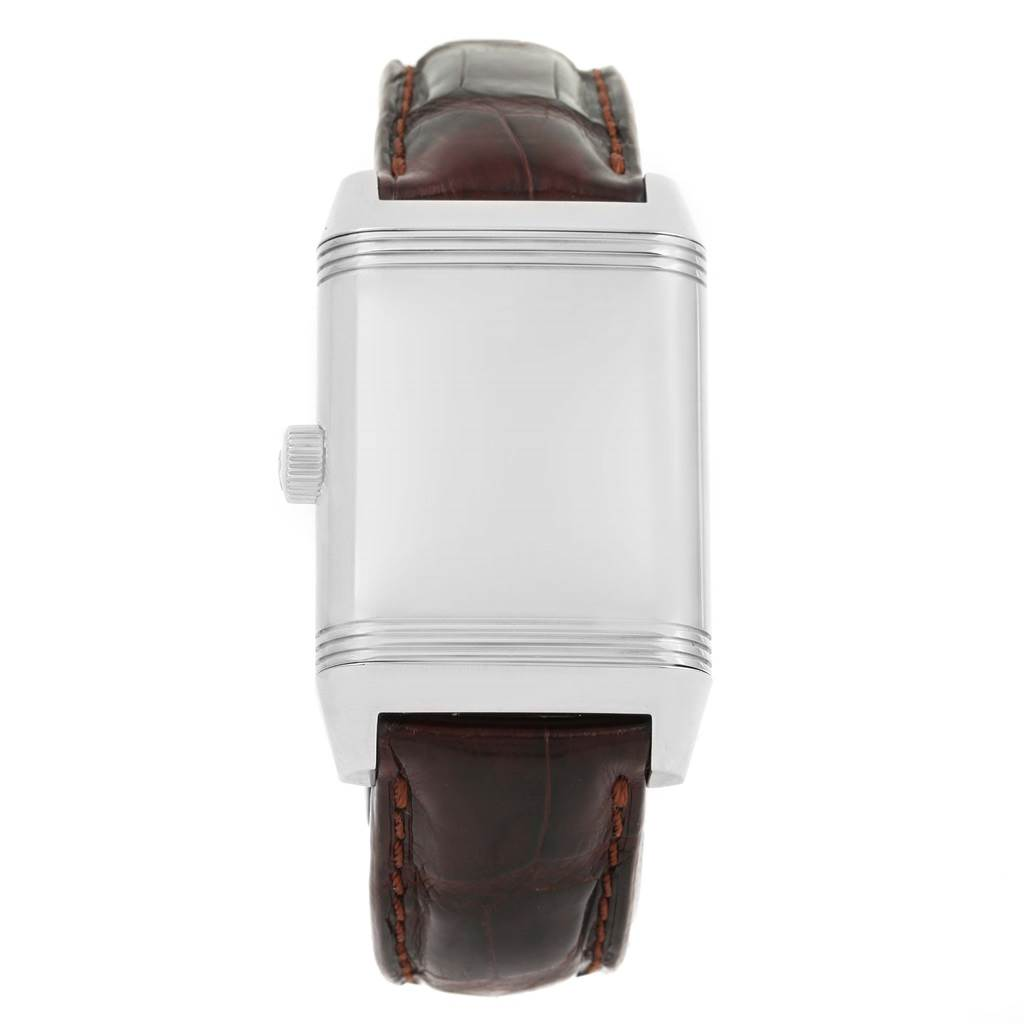 13863 Jaeger LeCoultre Grande Reverso Date Automatic Mens Watch 240.8.72 SwissWatchExpo
