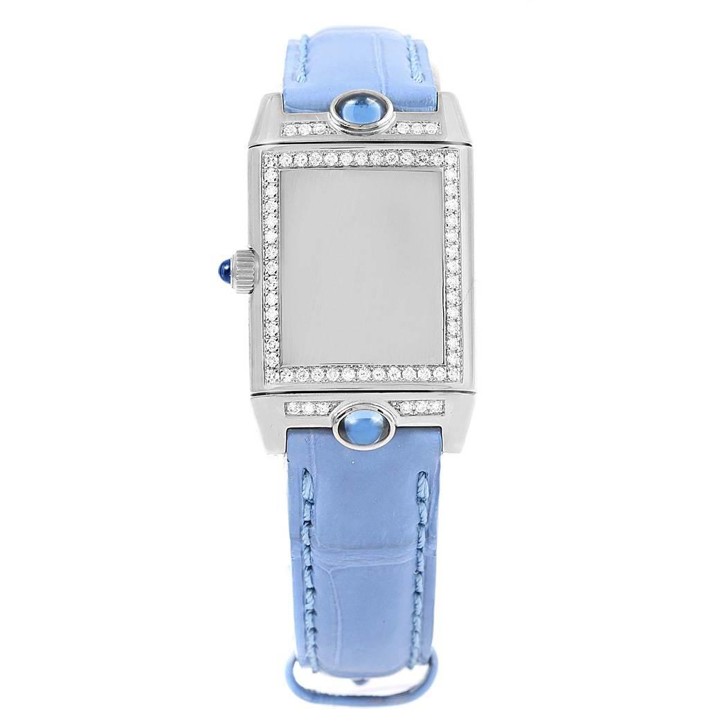 15932 Jaeger LeCoultre Reverso Joaillerie White Gold Diamond Watch Q2623402 SwissWatchExpo