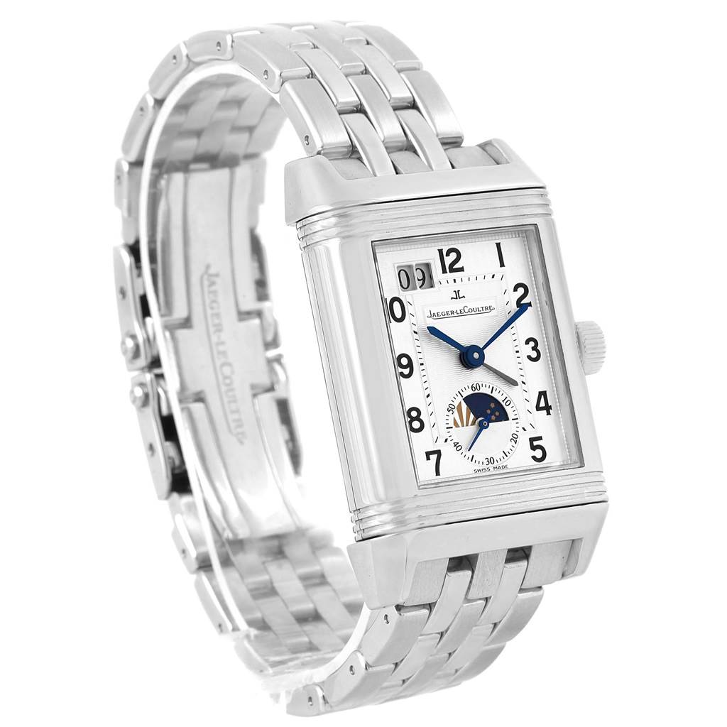 16877 Jaeger LeCoultre Grande Reverso Date Automatic Watch 240.8.72 Q3038420 SwissWatchExpo