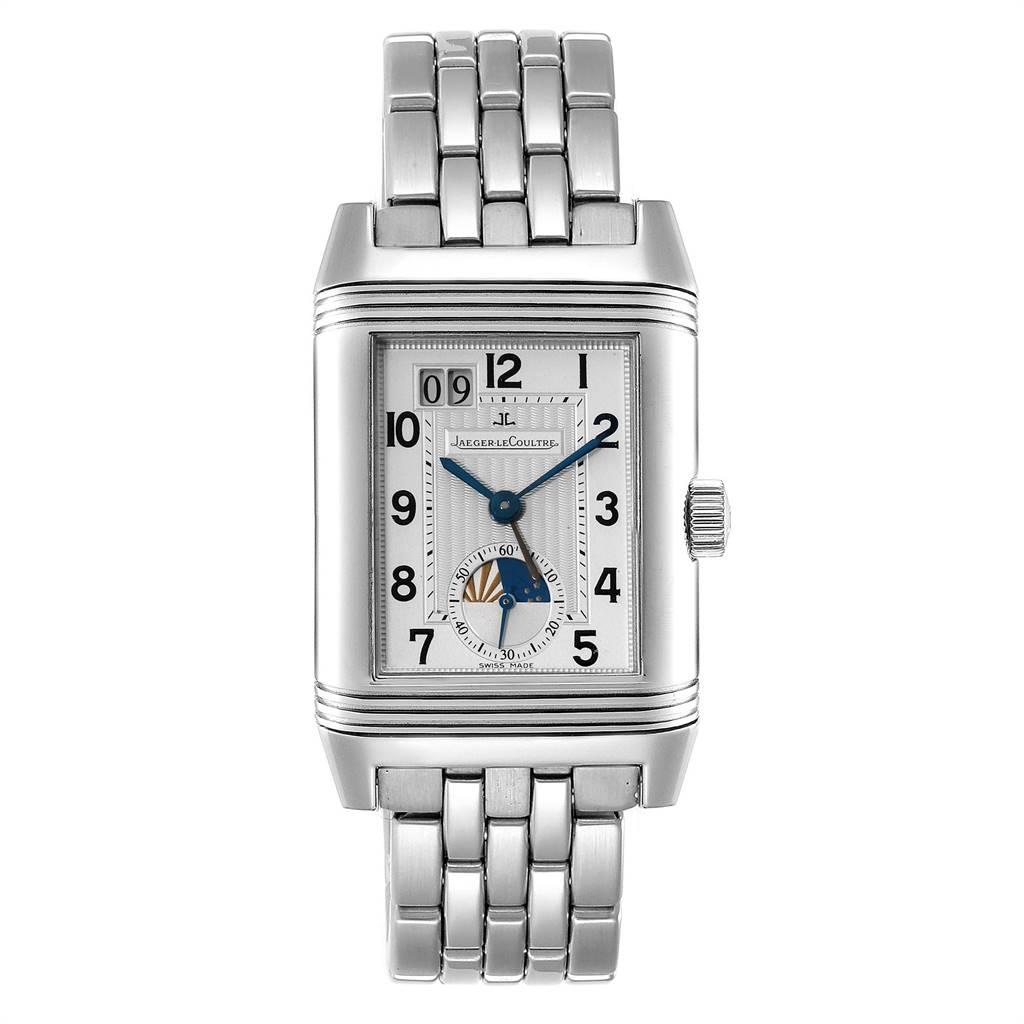 Jaeger LeCoultre Grande Reverso Date Automatic Watch 240.8.72 Q3038420 SwissWatchExpo