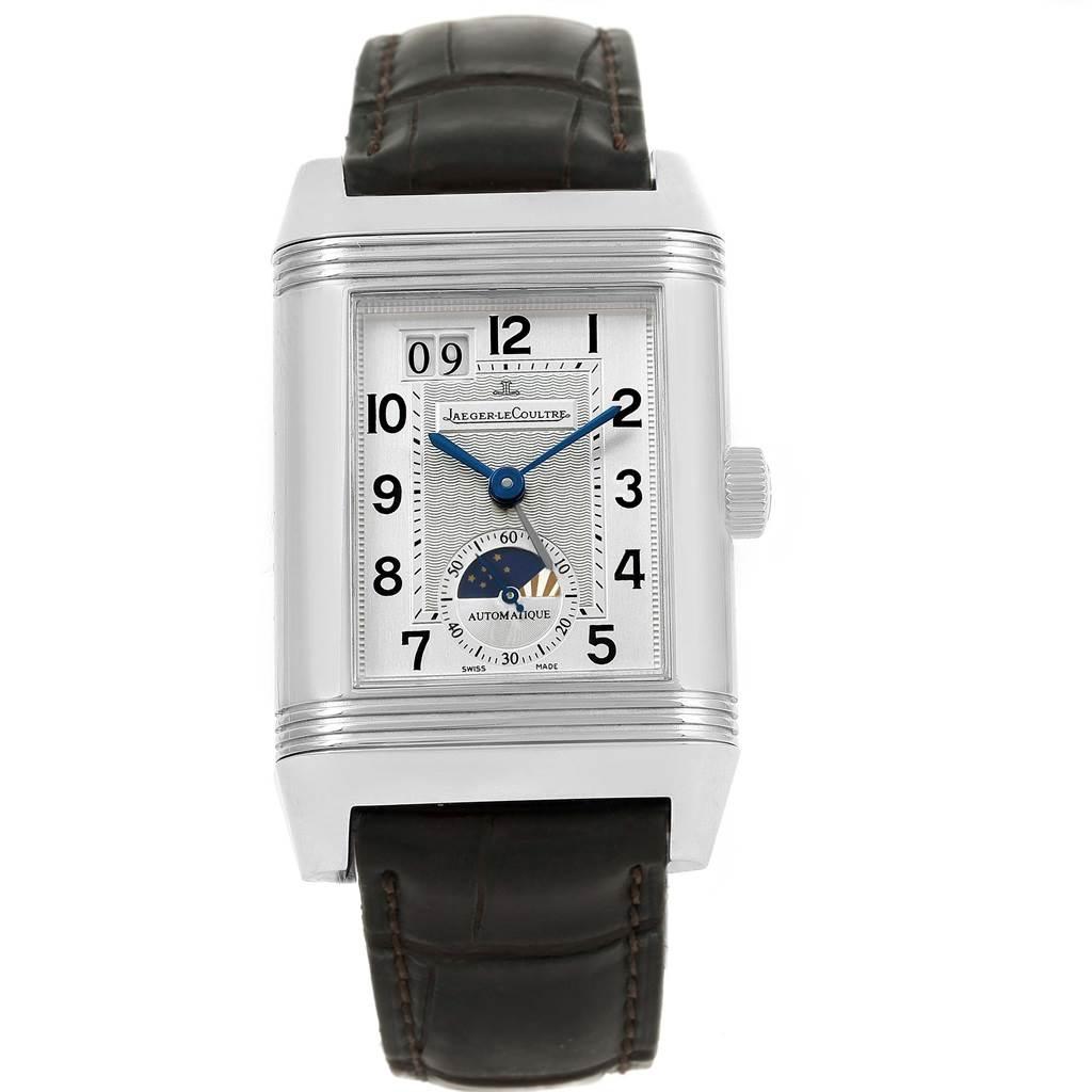 16818 Jaeger LeCoultre Grande Reverso Date Automatic Watch 240.8.72 Q3038420 SwissWatchExpo
