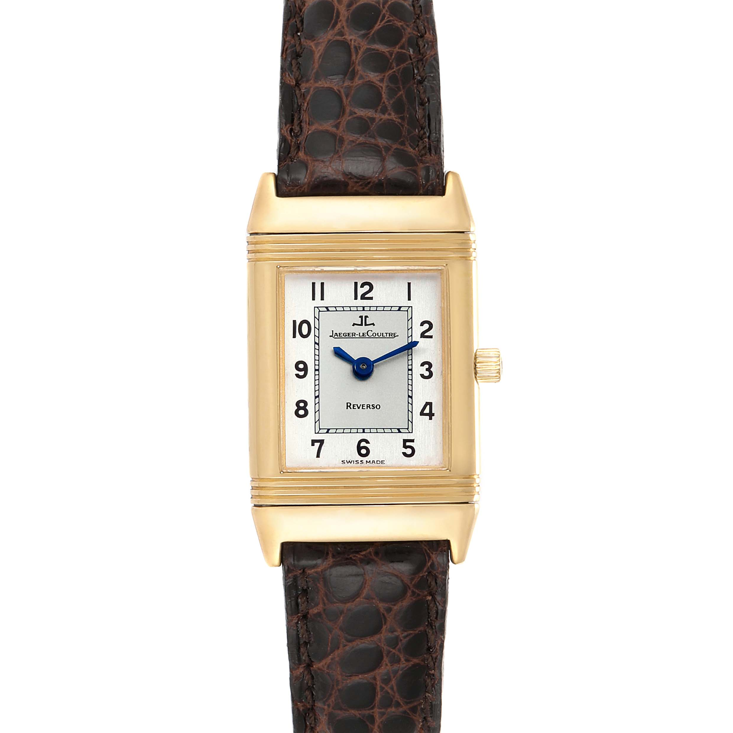 Jaeger LeCoultre Reverso Classique 18K Yellow Gold Ladies Watch 260.1.86