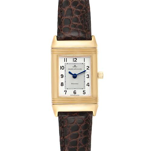 Photo of Jaeger LeCoultre Reverso Classique 18K Yellow Gold Ladies Watch 260.1.86