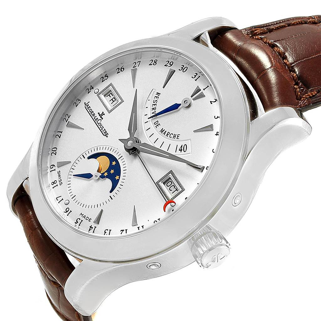17755 Jaeger Lecoultre Master Control Calendar Mens Watch 147.8.41.S SwissWatchExpo