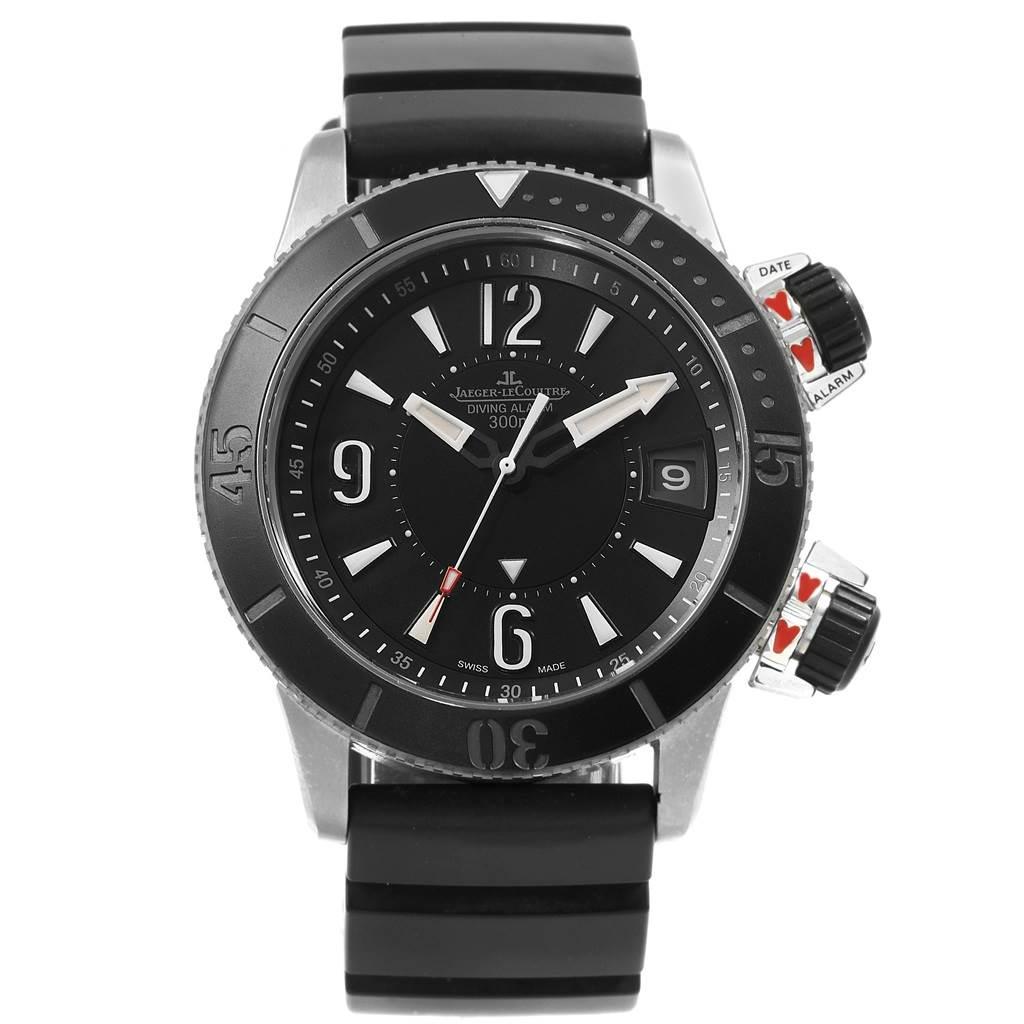 19087 Jaeger Lecoultre Master Compressor Diving Alarm Navy Seals Watch 160.T.96 SwissWatchExpo