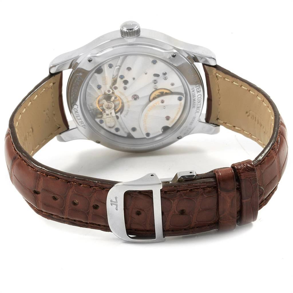 Jaeger Lecoultre Reserve De Marche Mens Watch 146.8.17.S Q1608420 Box Papers SwissWatchExpo