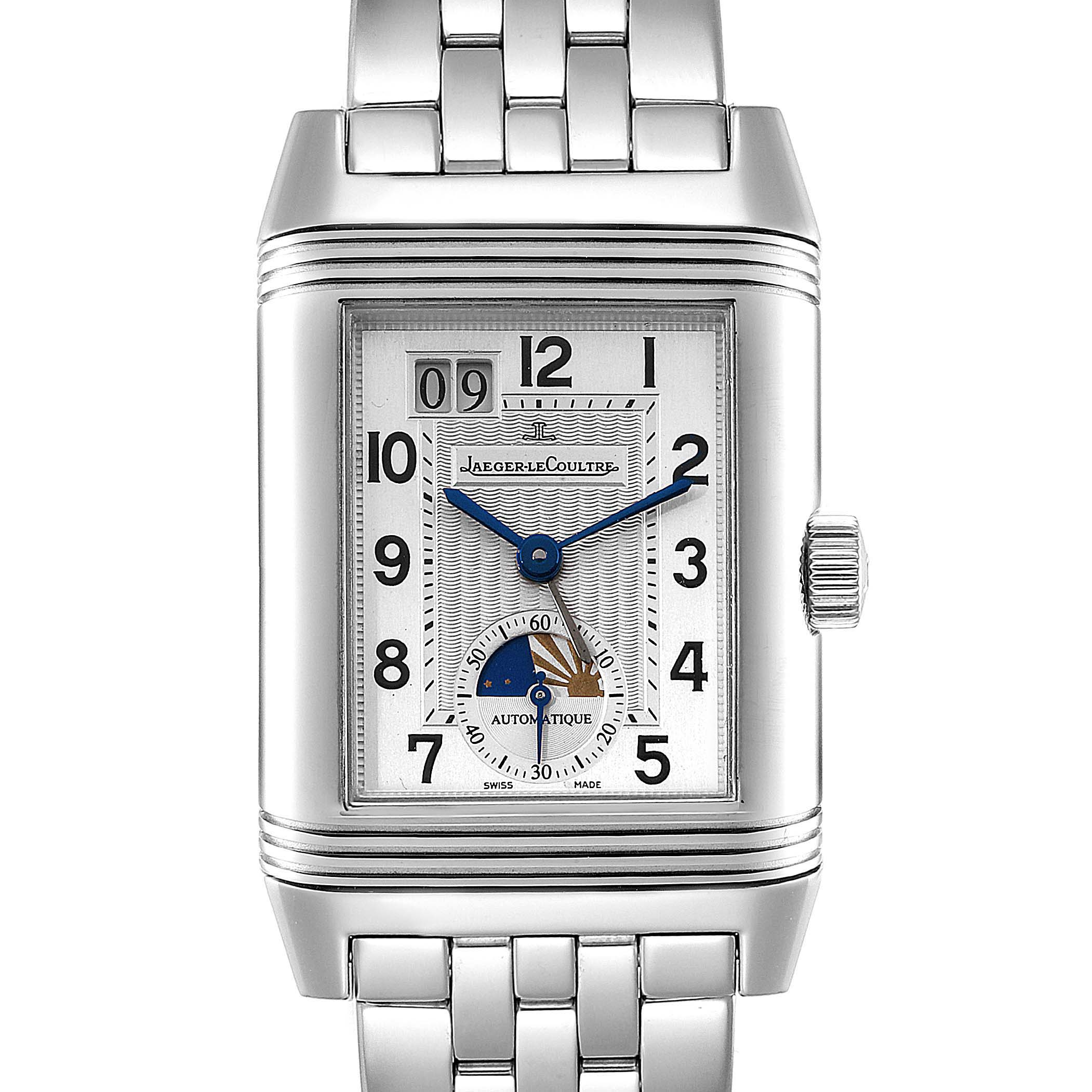 Jaeger LeCoultre Grande Reverso Date Automatic Watch 240.8.72 Q3038420