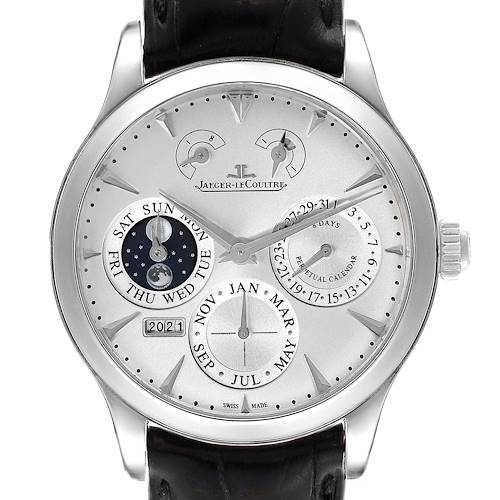 Photo of Jaeger Lecoultre Master 8 Days Perpetual Calendar Mens Watch 174.8.26 Q174826S