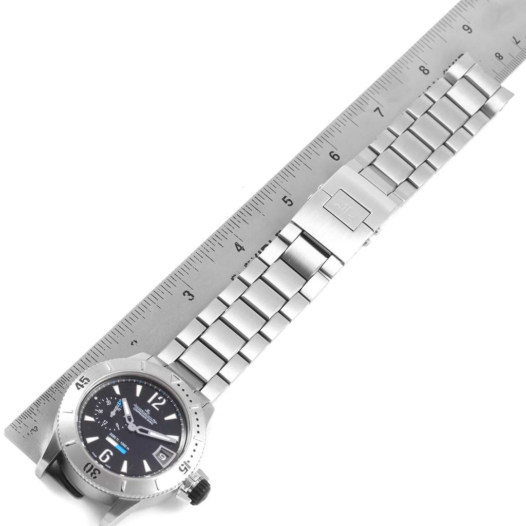 20881 Jaeger Lecoultre Master Compressor Diving GMT Titanium LE Watch 160.T.05 SwissWatchExpo