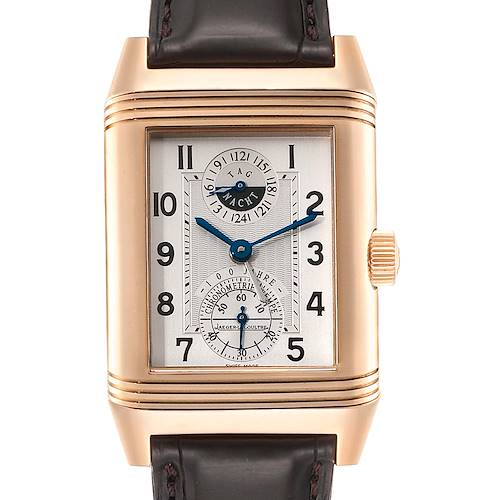 Photo of Jaeger LeCoultre Reverso Rose Gold Wempe Limited Edition Watch 240.2.72