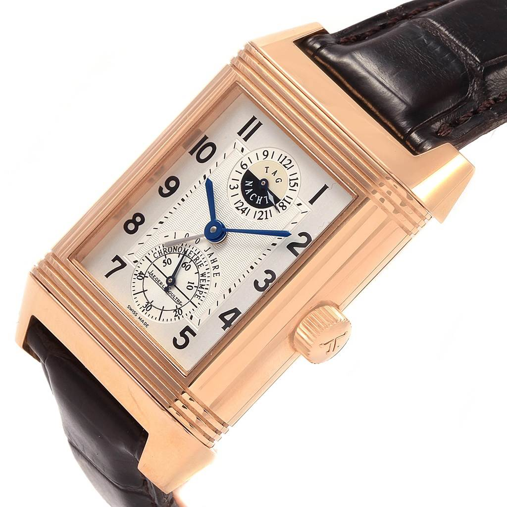 21224 Jaeger LeCoultre Reverso Rose Gold Wempe Limited Edition Watch 240.2.72 SwissWatchExpo