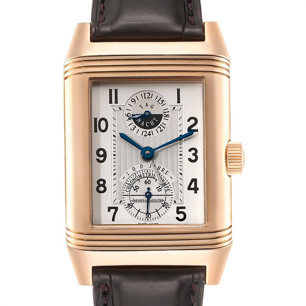 Jaeger LeCoultre Reverso Rose Gold Wempe Limited Edition Watch 240.2.72 SwissWatchExpo