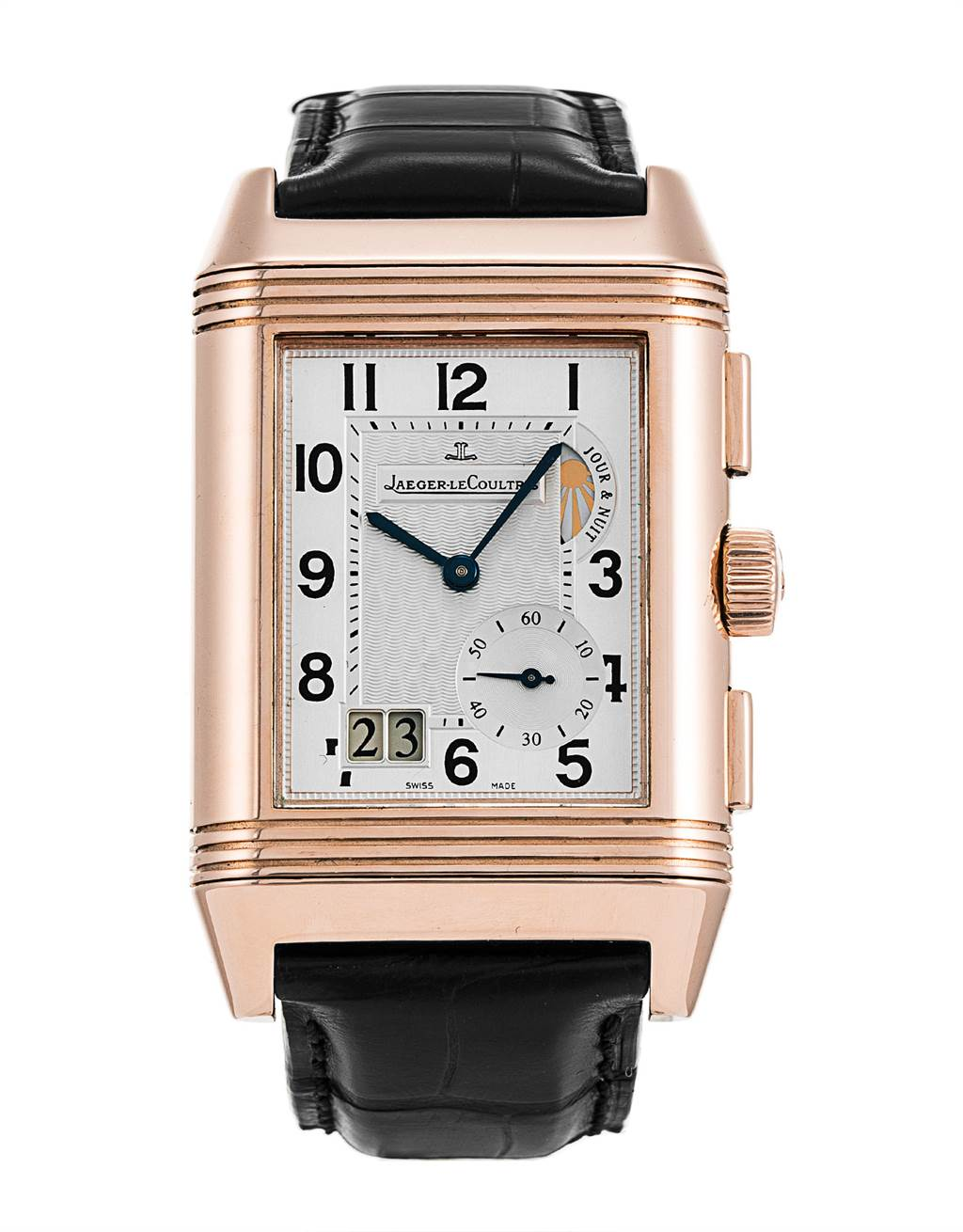 Jaeger LeCoultre Reverso Grande GMT Rose Gold Watch 240.2.18 Q3022420 SwissWatchExpo