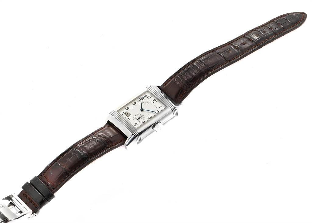 23045 Jaeger LeCoultre Reverso XGT Grande Date 8 Day Mens Watch 240.8.15 SwissWatchExpo