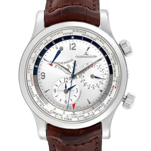 Photo of Jaeger Lecoultre Master World Geographic Mens Watch 146.8.32.S Q1528420