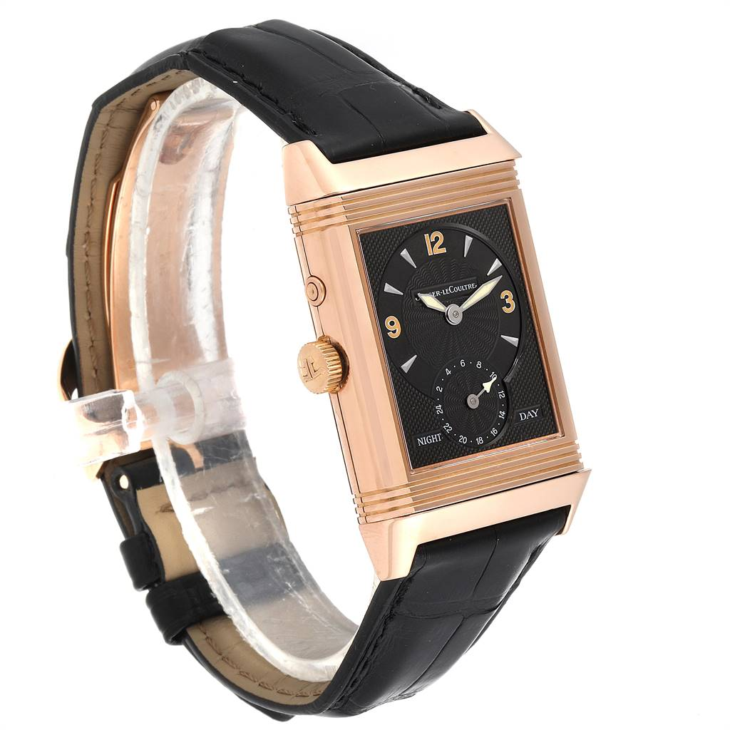 Jaeger LeCoultre Reverso Duo Day Night Rose Gold Watch 270.2.54 Q270254 SwissWatchExpo