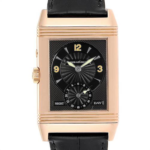 Photo of Jaeger LeCoultre Reverso Duo Day Night Rose Gold Watch 270.2.54 Q270254