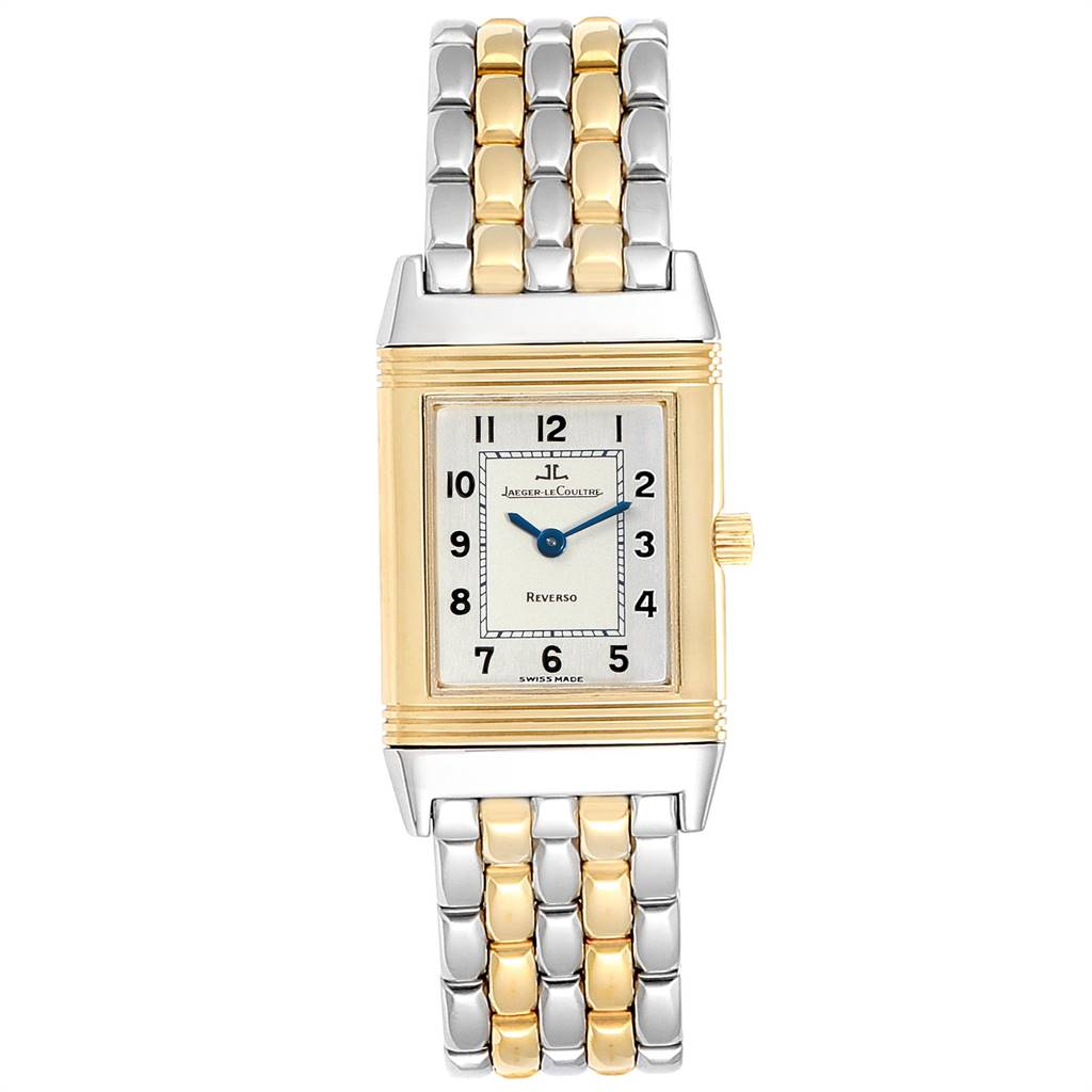 24443 Jaeger LeCoultre Reverso Steel Yellow Gold Ladies Watch Q2605110 SwissWatchExpo