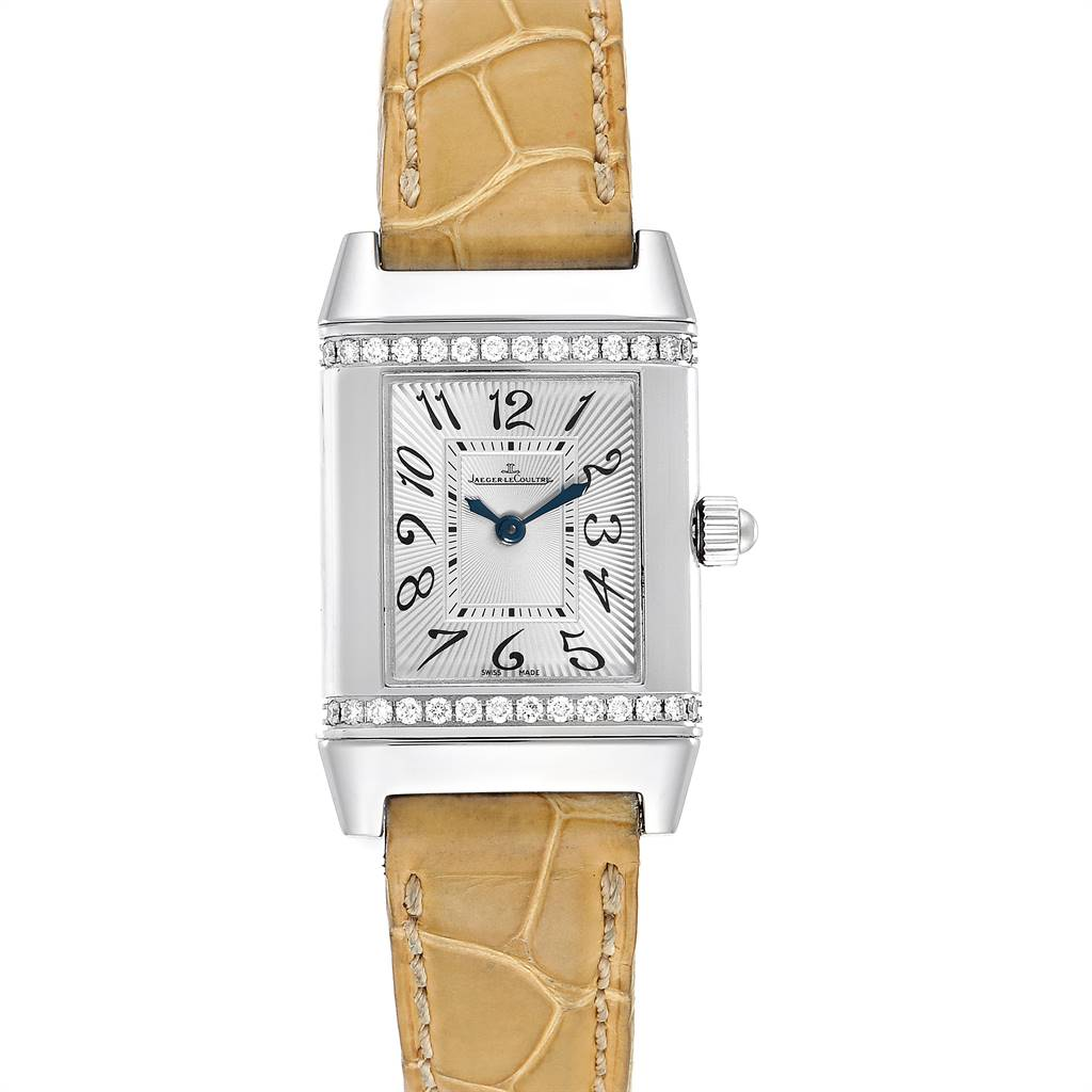 Jaeger LeCoultre Reverso Florale Ladies Diamond Watch 265.8.86 Q2658430
