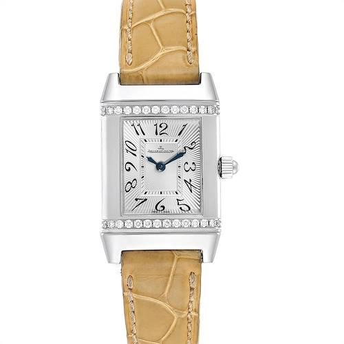 Photo of Jaeger LeCoultre Reverso Florale Ladies Diamond Watch 265.8.86 Q2658430