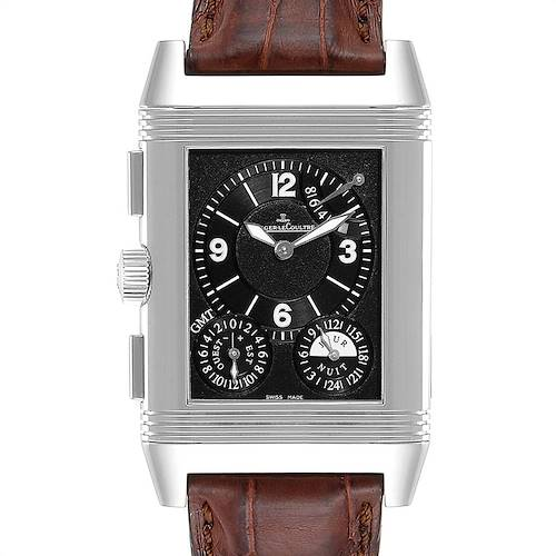 Photo of Jaeger LeCoultre Reverso Grande GMT Steel Mens Watch 240.8.18 Q3028420