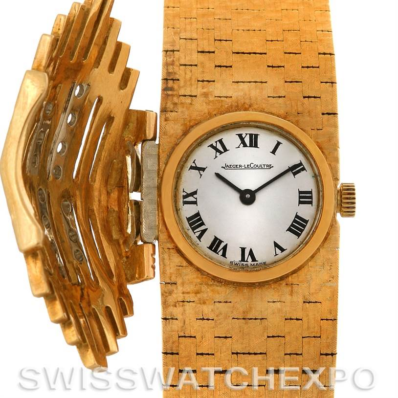 Photo of Jaeger Lecoultre Vintage 18K yellow Gold Diamond Ladies Watch