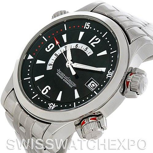 5113P Jaeger Lecoultre Master Compressor Memovox Watch 146.8.97/1 SwissWatchExpo