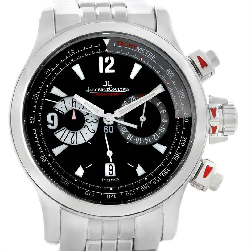 Jaeger lecoultre master compressor chronograph mens watch 146 for Chronograph master