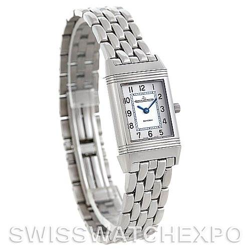 5772 Jaeger LeCoultre Reverso Ladies 260.8.47 Steel Quartz Watch SwissWatchExpo